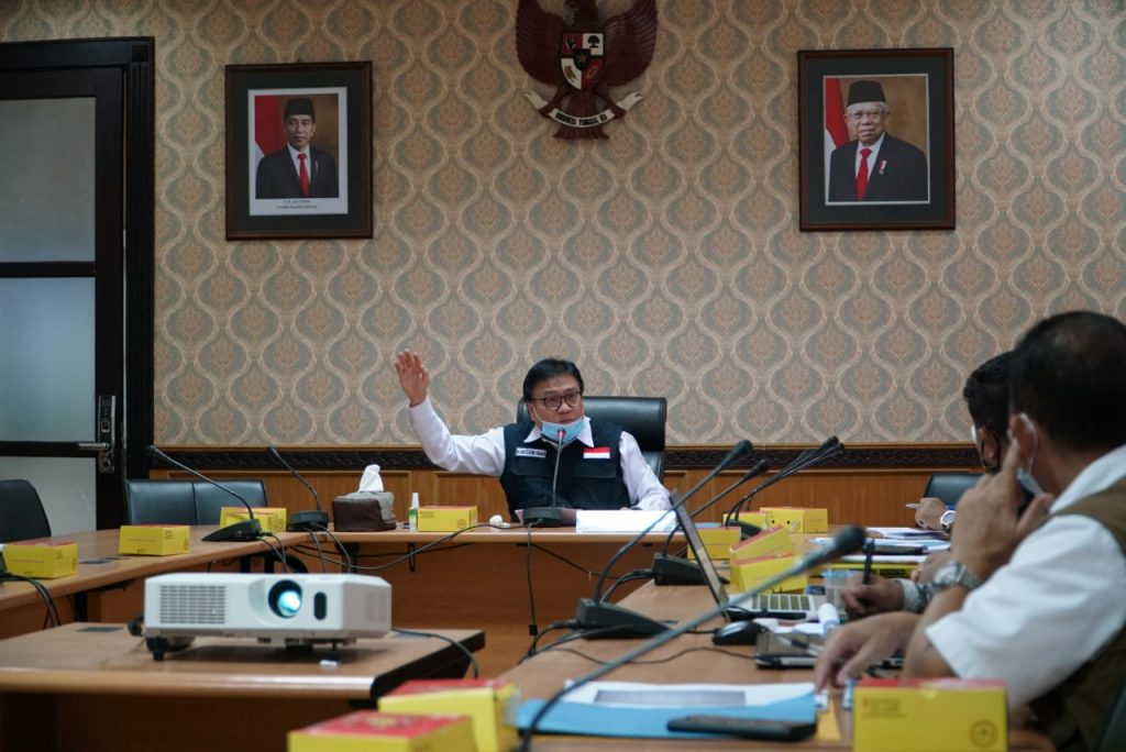 Sekda Pimpin Rapat Pengembangan UPTB Trauma Center Kebencanaan dan PK Sumsel