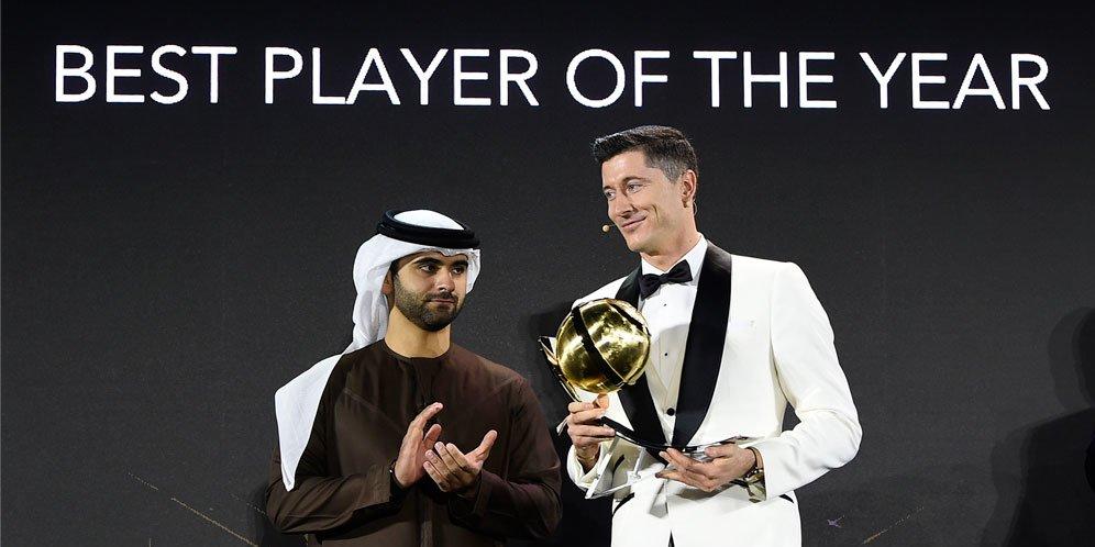 Bangganya Lewandowski Bisa Undang Dinner Cristiano Ronaldo dan Messi