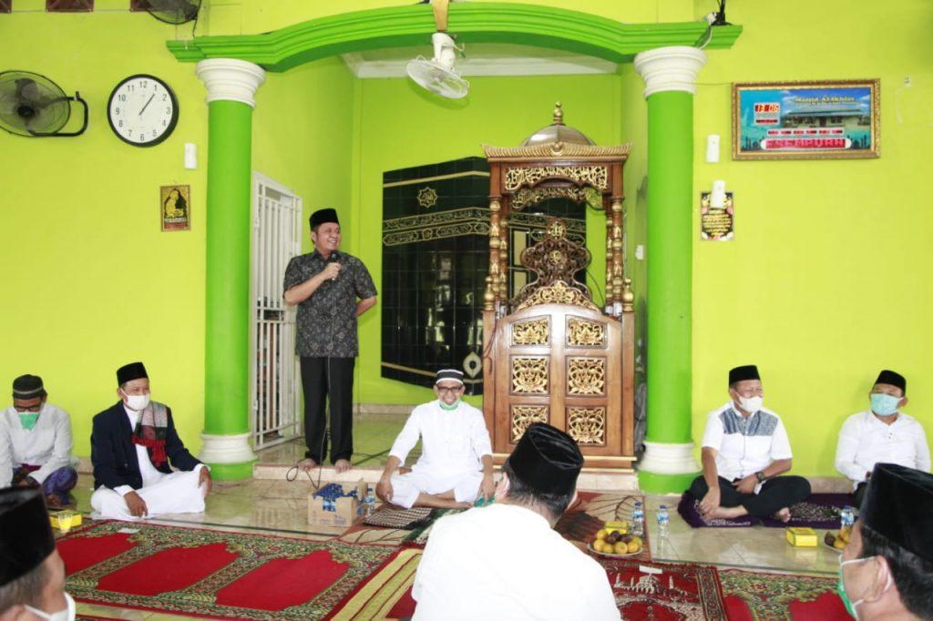 Safari Jumat ke Sematang Borang,  HD Ajak Jemah Masjid Al Ikhlas Jaga Silaturahmi