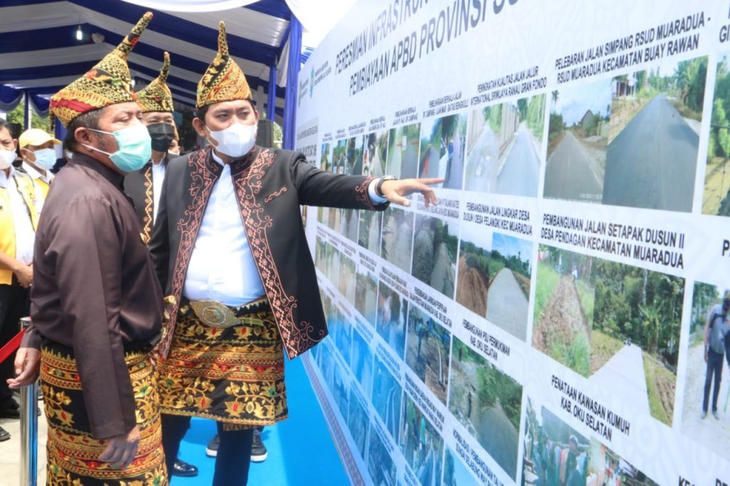 Dukungan Infrastruktur dari Gubernur Herman Deru Bikin OKUS Maju Pesat