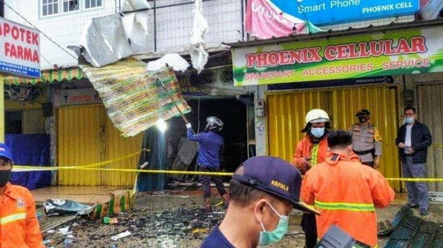 Sebuah Toko Aksesoris HP di Prabumulih Terbakar, Pemilik dan 2 Karyawan Tewas
