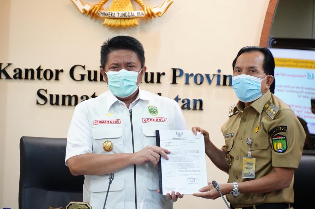 HD Bakal Kucurkan Bangubsus Secara Proporsional  untuk Penanganan  Infrastruktur di Kota Prabumulih
