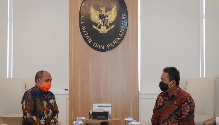 Wali Kota Silaturahmi Ke Menteri KKP, Dorong Lima Program Perikanan Di Pangkalpinang