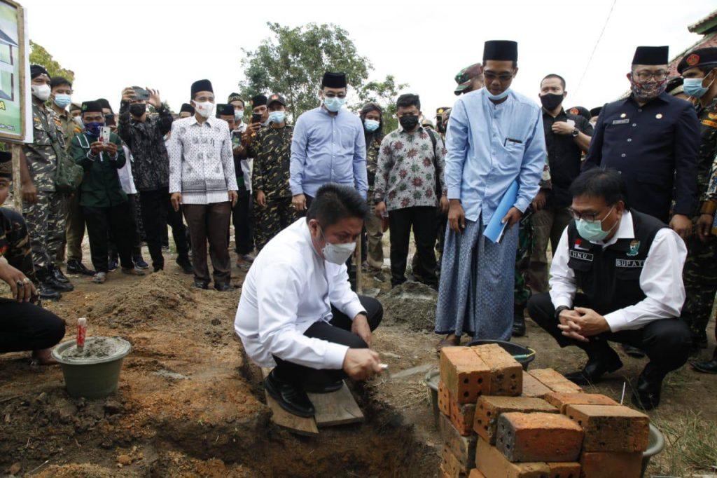 Herman Deru Ajak Ponpes Mansyaul Huda Dongkrak Kualitas Pendidikan Agama di Muara Enim