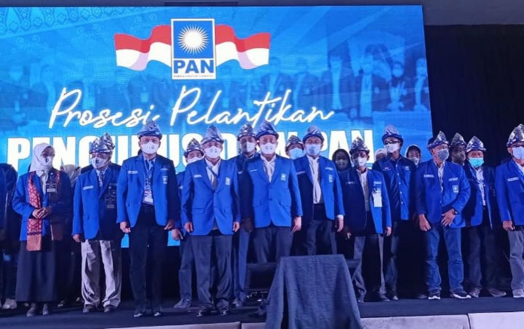 Pengurus DPW PAN Sumsel Resmi Dilantik Zulkifli Hasan