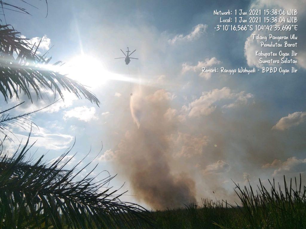 3 Hektare Lahan Ludes Terbakar, Karhutla Terjadi di Ogan Ilir Sumsel