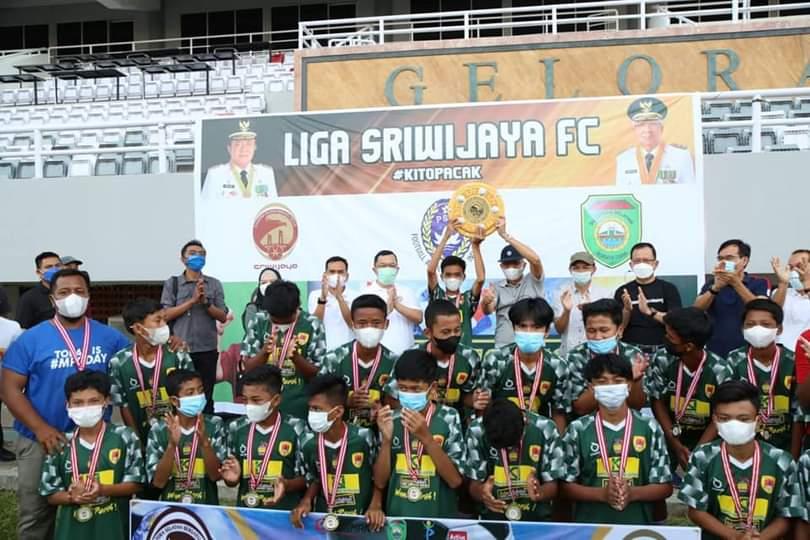 SSB FC Martapura U-14 Sukses Juara Satu Liga Sumsel