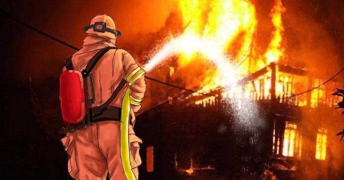 Keterlaluan ! Petugas BPBD Empat Lawang Kena Prank Laporan Kebakaran