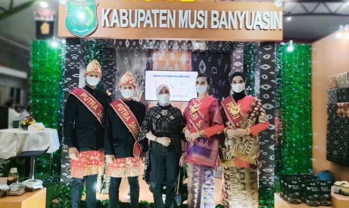 Warga Sumsel Terpikat Gambo Muba Di Sriwijaya Expo