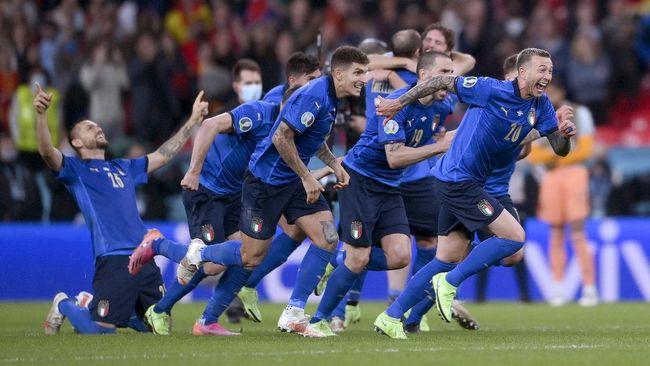 Bukan Kemenangan Mudah, Italia Nyaris Tamat di Final Euro 2020