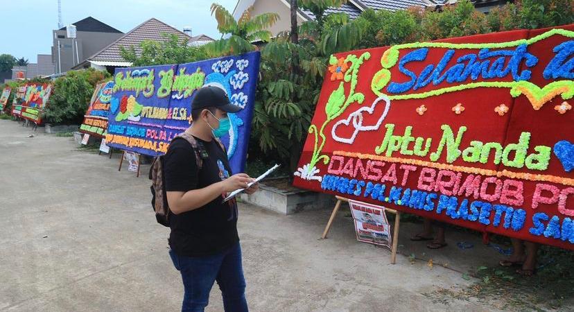 PMR Florist Papan Bunga Langganan Pejabat dan Influencer Palembang