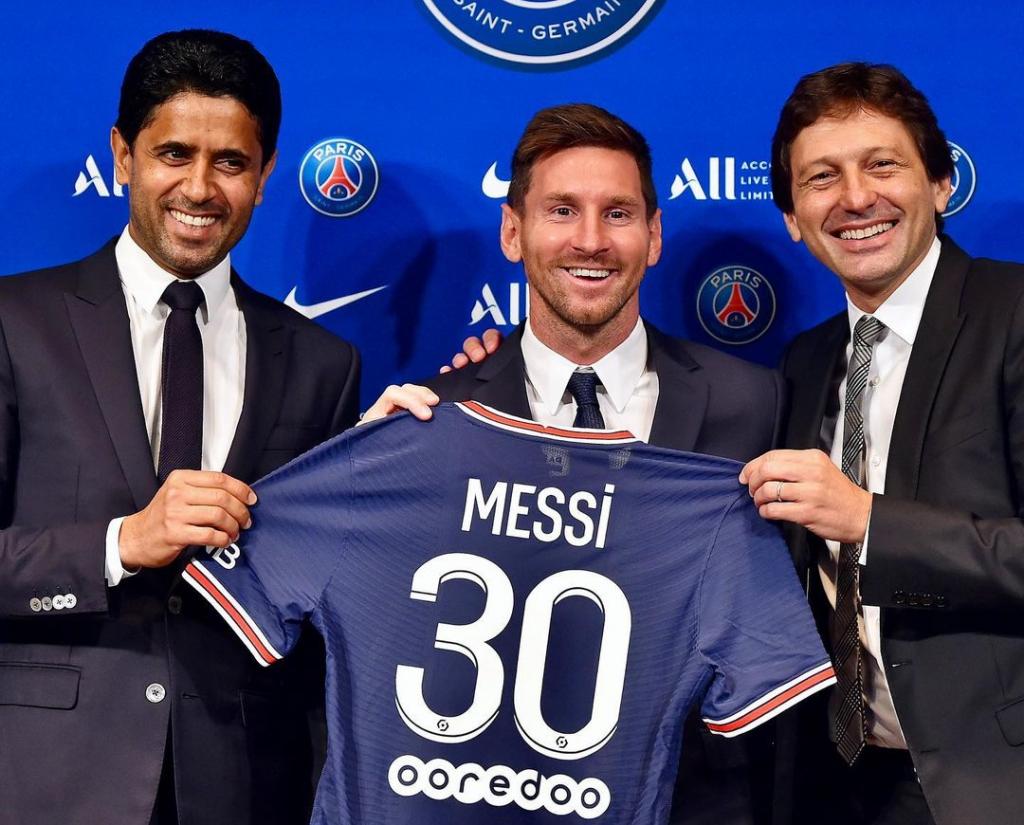 FANTASTIS !!! Messi Resmi Pindah ke PSG, Jerseynya Sold Out Dalam 30 Menit