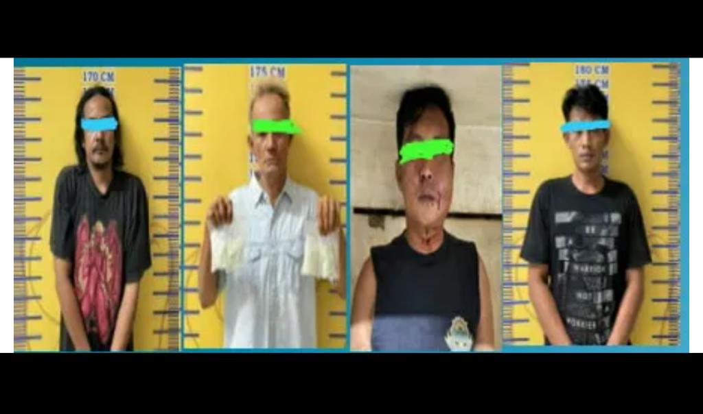 Polisi Tangkap 4 Pembawa Pil Ektasi Setelah Lakukan Penyamaran