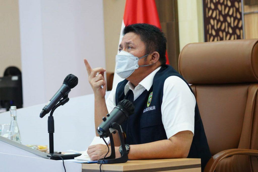 """Rakor Bahas Infrastruktur di Sumsel, Herman Deru Minta Tanjung Carat """"Superprioritas"""""""