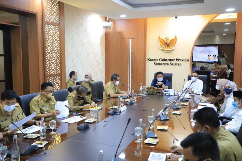 Herman Deru Minta Komisi IV dan V DPR Dorong Pembangunan Tanjung Carat On Schedule