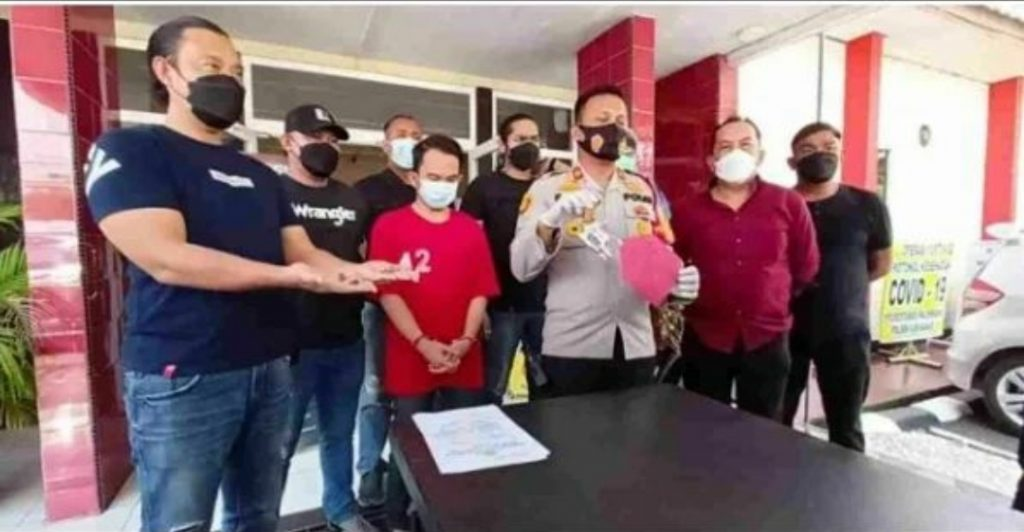Polisi Amankan Tersangka Penyalahgunaan Senjata Api Rakitan dijalan Soekarno Hatta