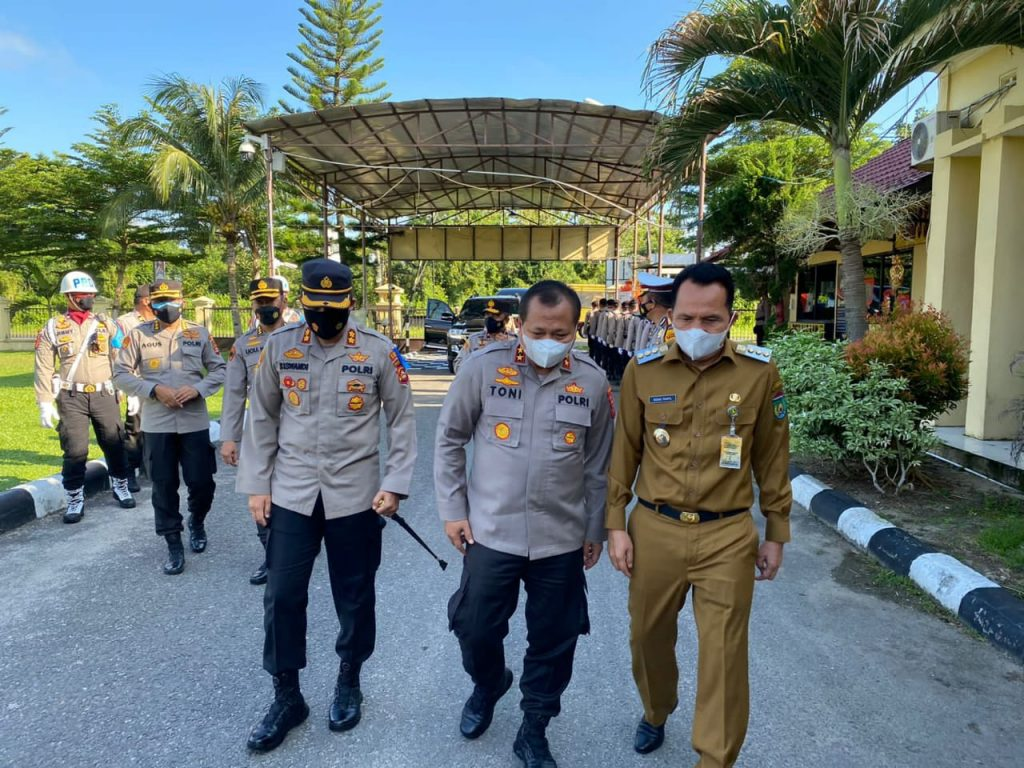 Kapolda Sumsel Kunjungan Kerja ke Polres Prabumulih