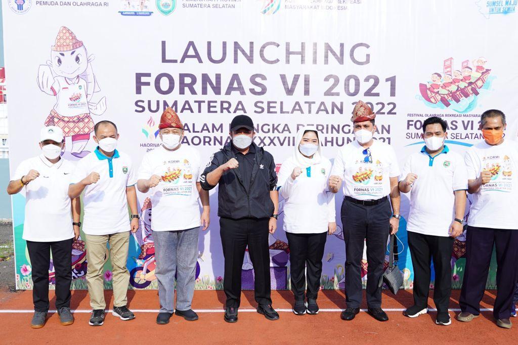 Sumsel Resmi Jadi Tuan Rumah Festival Olahraga Rekreasi Nasional Tahun 2022