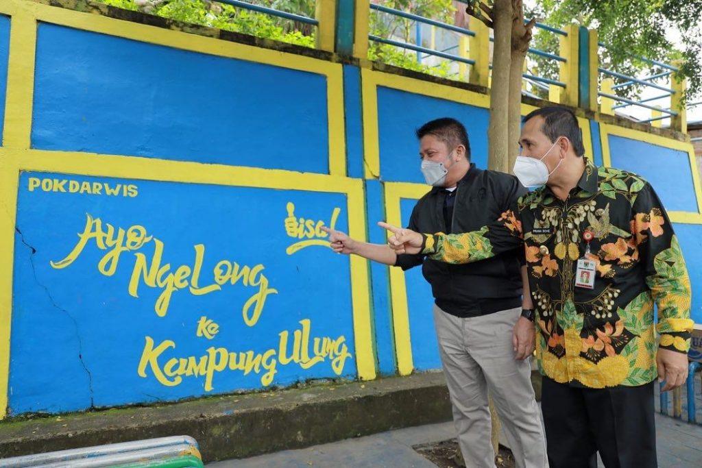 """Gubernur Sumsel Jadikan """"Kampung Ulung""""  Jadi Contoh Bagi Kabupaten/Kota di Sumsel"""