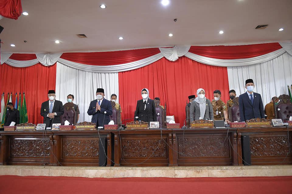 DPRD Prov. Sumsel Bersama Gubernur Sepakati Perubahan KUA dan PPAS APBD Prov. Sumsel TA 2021