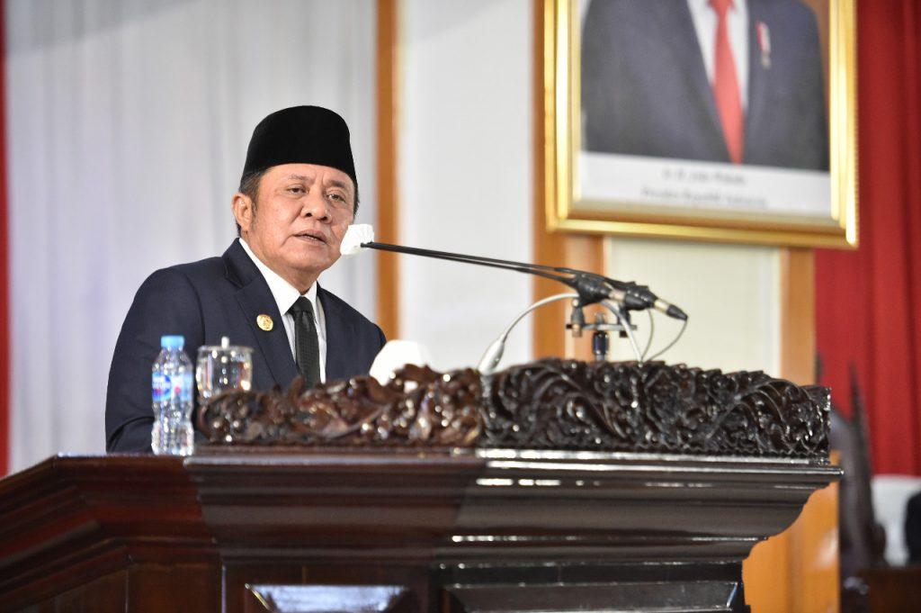 Gubernur Sumsel Sampaikan Pertanggungjawaban Pelaksanaan APBD Tahun 2020