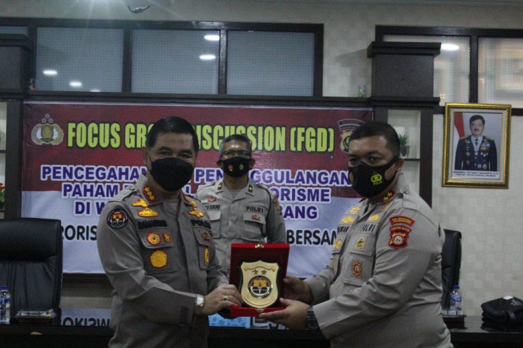 Polisi Palembang Gelar FDG Cegah Penyebaran Paham Radikalisme