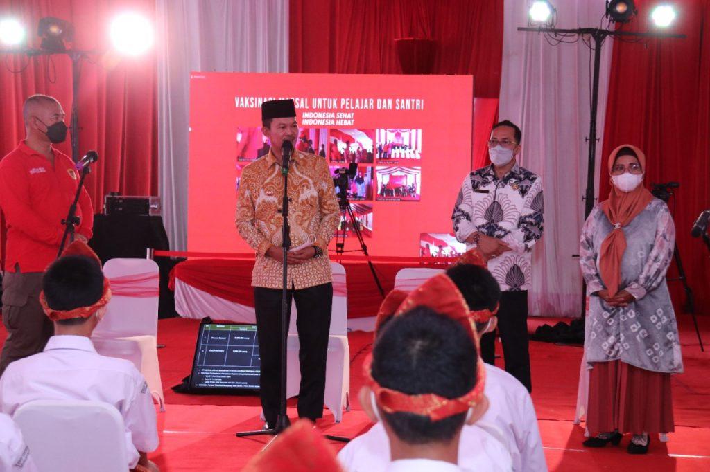 86 % Remaja Palembang Sudah Divaksinasi