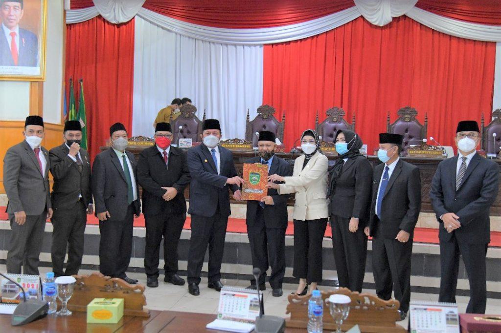 DPRD Prov. Sumsel Dan Gubernur Setujui Pemekaran Calon Daerah Persiapan (CDP) Kabupaten Kikim Area