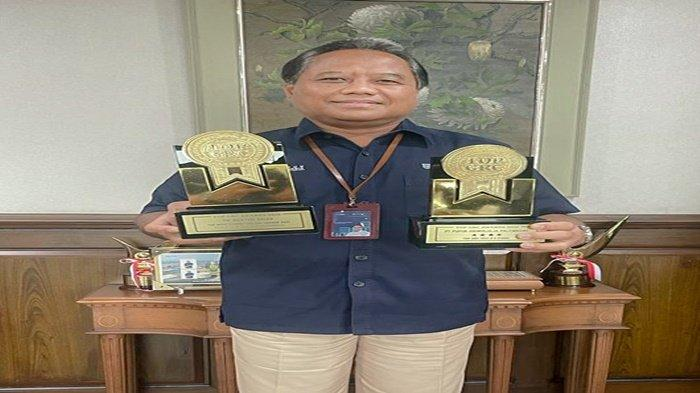 PUSRI kembali Raih Dua Kategori Penghargaan dari Top GRC Award 2021