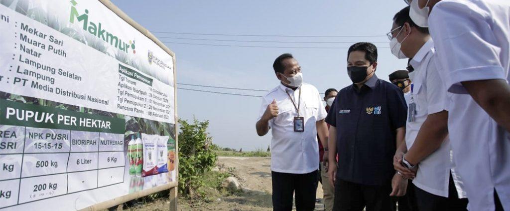 PT Pusri Palembang : Program Makmur beri manfaat nyata bagi petani Indonesia